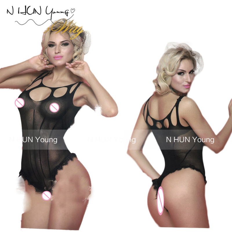 Sexy Lingerie Hot Erotic Bodystocking Biksītes Lenceria Erotika Mujer Sexi Babydolls Apakšveļas medmāsa Teddy Body Plus izmērs QQ304