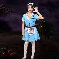 Halloween Costumes Women Zombie Costumes Blue Zombie Dress Zombie Clothes