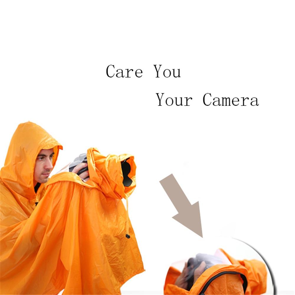 Detachable Rainproof Camera Rain Cover for Nikon for Canon Raincoat Protector Case for DSLR SLR Camera