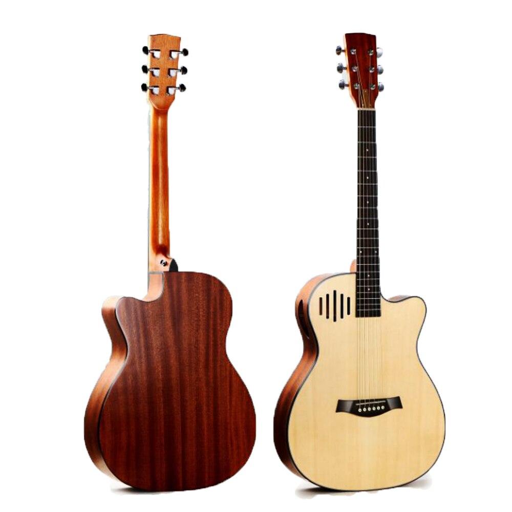 Guitare acoustique en épicéa 40