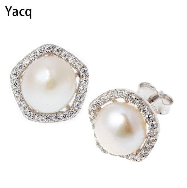 925 Sterling Silver Gemstone Jewellery Earrings for Women Ear Studs Gifts for Her v9LnPKIcWY