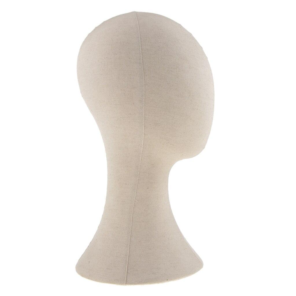 Image 5 - 22 toile bloc Mannequin tête perruque chapeau faisant porte  lunettes tête chapeau affichage de cheveux style Mannequin  Beigemannequins