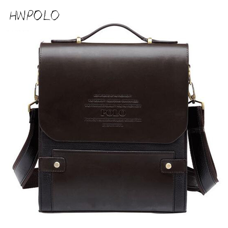 HWPOLO 2017 Luxury Handbags Men s