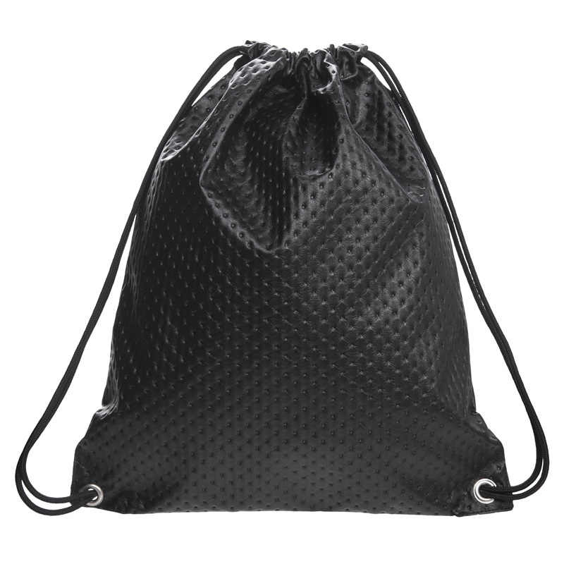 ... SUNNY SHOP Fashion Skull Crocodile Pattern Drawstring Bag Women 2018 PU  Leather Drawstring Backpack Sack Bag ...