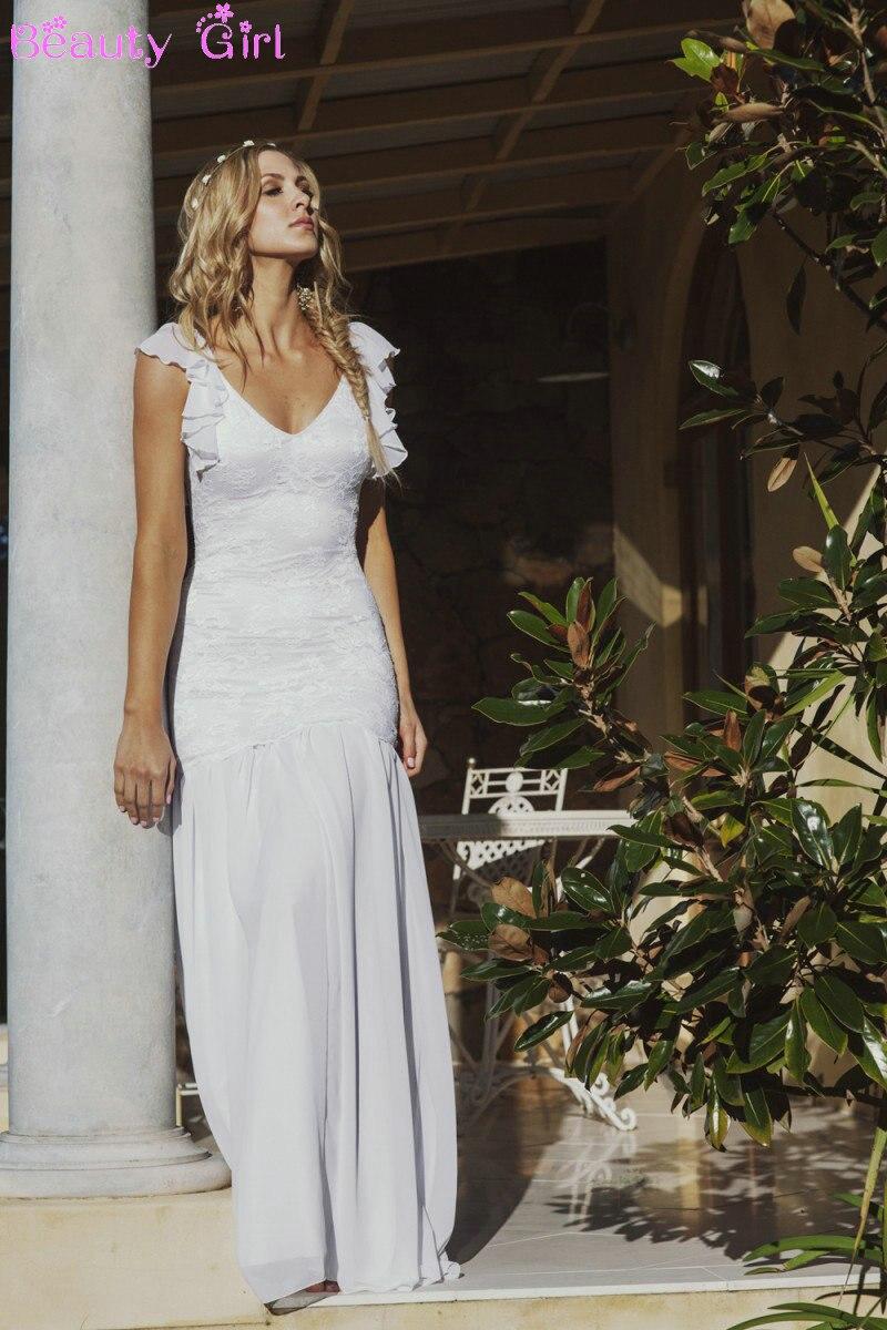 sexy backless wedding dresses hippie wedding dresses sexy vestidos de boda robe de mariee beach