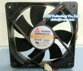 YW12025012BH 120*120*25mm DC12V 0.46A 4wires 12cm Cooling fan