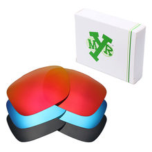 3 pares mryok reemplazo Objetivos para Oakley dos Cara Gafas de sol Stealth  Black   Ice Blue   Fire red dab5674cf2