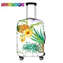NOISYDESIGNS Elastic Luggages Protective Cover Watercolor Tropical Fruit Plants Print Suitcases Bag Dust Rain Covers Luggage