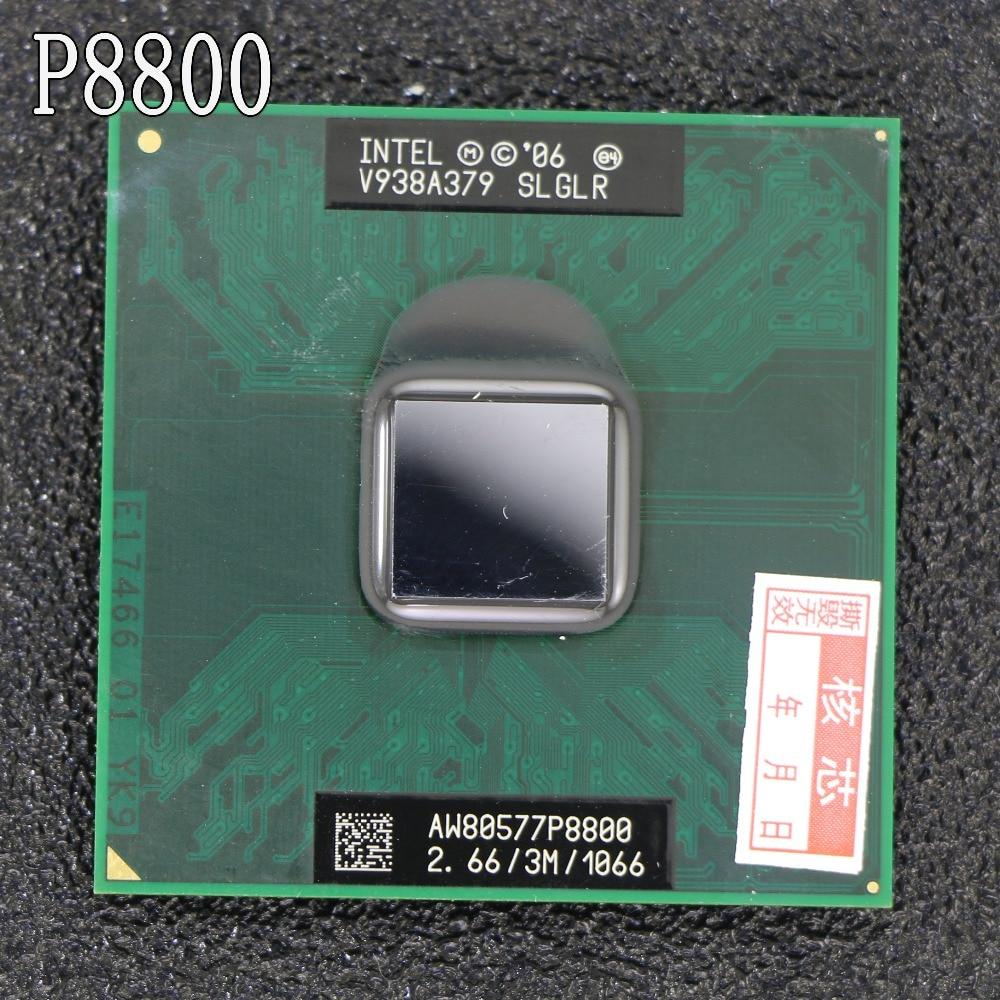 Shipping free Intel Core2 Extreme Processor P8800 (3M Cache, 2.660 GHz, 1066 MHz FSB) Socket 478 CPU P478