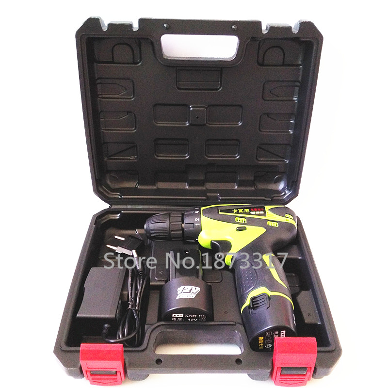 12V Electric Screwdriver Cordless Lithium Battery 2 Rechargeable Parafusadeira Furadeira Electric Drill Power font b Tools