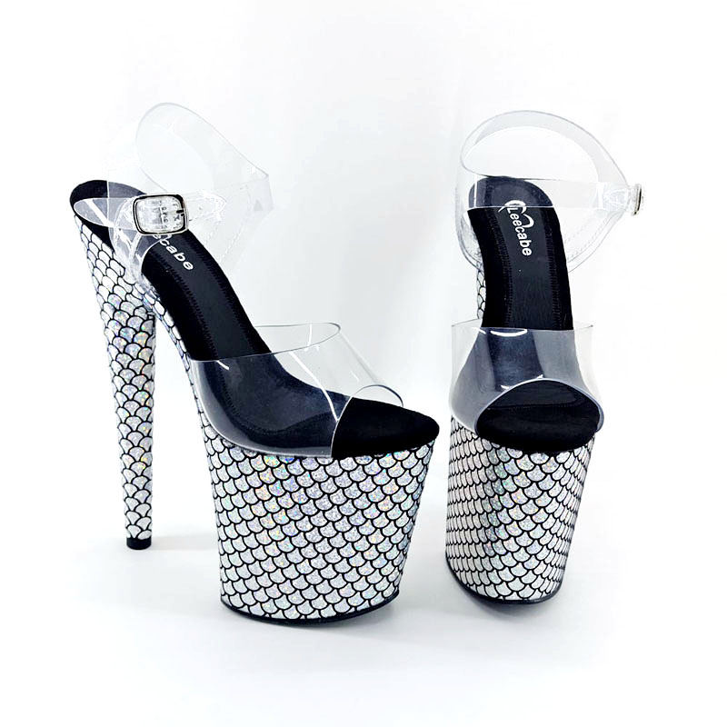 Office & School Supplies Methodical Leecabe 8 Inch Silver Shoes Pumps 20cm Sexy High Heel Sandals Pole Dance Shoes Ballroom Dance Shoes Party Shoes Numerous In Variety