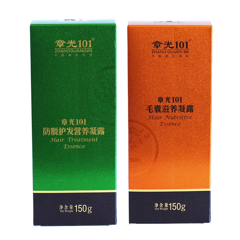 Zhangguang 101 Hair Treatment Essence 150g + Hair Nutritive Essence 150g 2 bottles a lot Chinese medicine therapy anti hair loss a gensn 150g