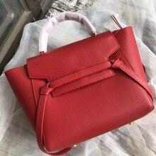 Новая натуральная кожаная большая сумка-тоут-модная женская дизайнерская сумка через плечо известного бренда