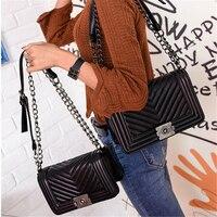 Taliyah Brand 2017 Summer Handbags Women Messenger Bag Chain Shoulder Vintage Fashion V Ladies Hand Bag