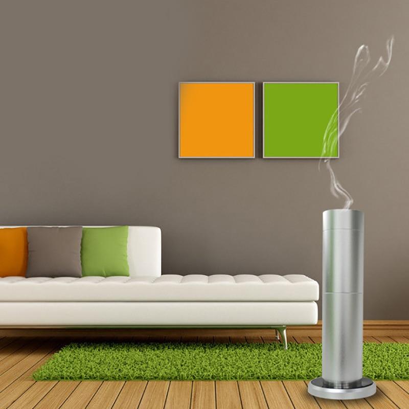 300 medidor cúbico escritório aroma difusor de óleo essencial purificador ar ultra sônico temporizador função unidade aroma óleo essencial diff - 5