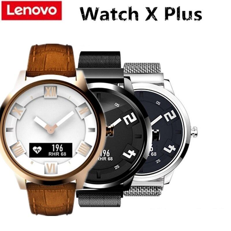 Original Lenovo Watch X Watch X Plus Smart Watch Waterproof Sleep
