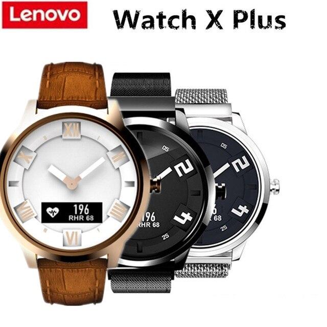 Lenovo שעון X בתוספת Bluetooth עמיד למים Smartwatch מחווה צילום 8ATM שינה Waterproof קצב לב צג עבור IOS אנדרואיד