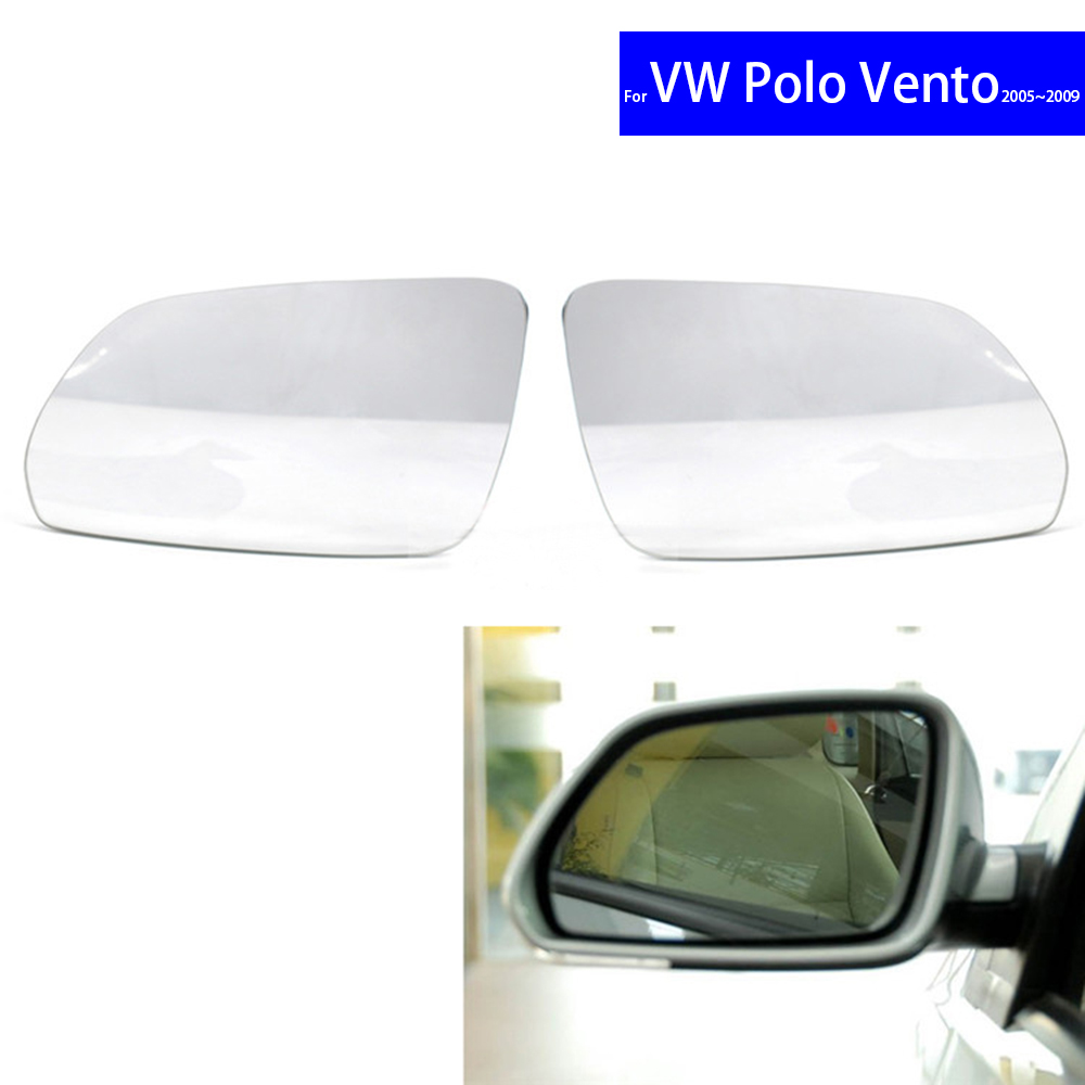 Door Wing Mirror Electric Heated With Indicator Right O//S Vw Polo 2005-2009 New