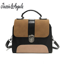 Jiessie & Angela Woman Famous Brand Vintage Women Handbags Designer Retro Casual Shoulder Bag Messenger Bags Bolosa