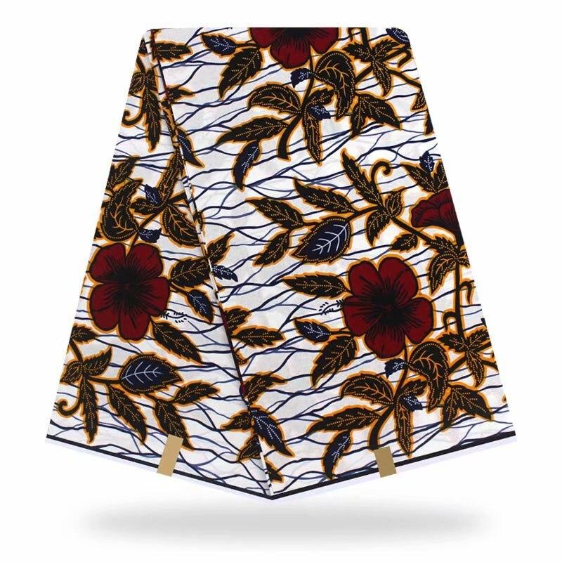 Nouvelle véritable cire garantie vraie cire hollandaise haute qualité pagne cire 6 yard africain ankara couture tissu pour robe de mariée chaude!!