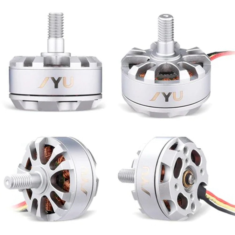 RC 2204 2205 <font><b>2300KV</b></font> brushless outrunner motor 2-4S with prop adatpter nuts for FPV racing drone 250 class quad multirotor image