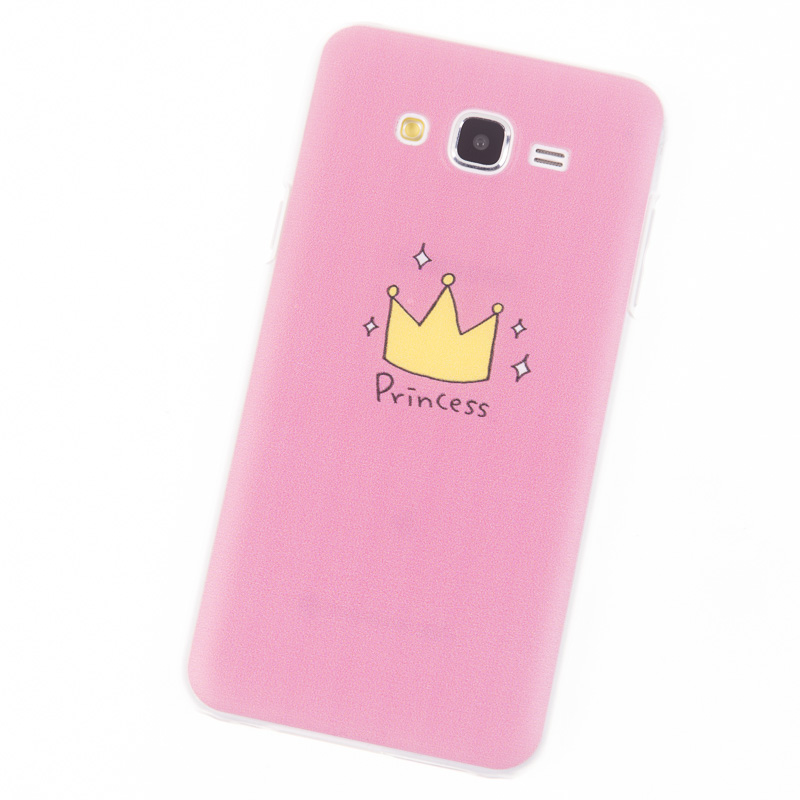 phone cases for samsung galaxy j7 case j700 pink princess. Black Bedroom Furniture Sets. Home Design Ideas