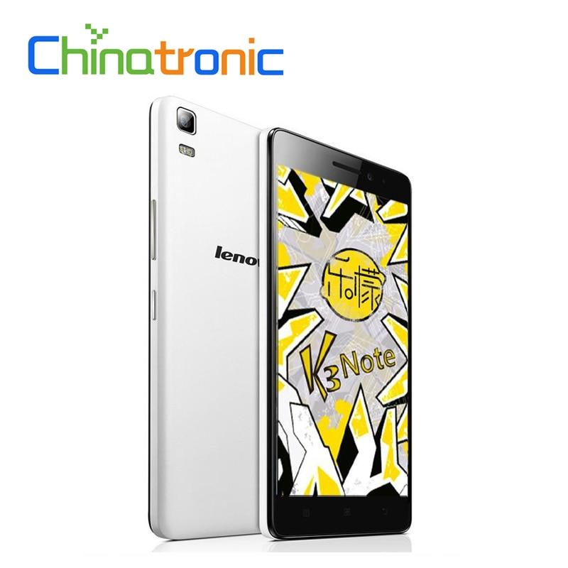 """bilder für Auf Lager Geschenk Original Lenovo K3 Hinweis K50-T5 K50-T3s Android 6.0 Handy MTK6752 Octa-core Dual SIM 4G LTE 5,5 """"FHD 2G RAM"""