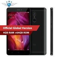 Global Version Xiaomi Redmi Note 4 Smartphone 4GB RAM 64GB ROM Snapdragon 625 Octa Core CPU