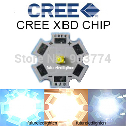 Freeshipping!10pcs X <font><b>Cree</b></font> XBD XB-D 1-<font><b>3W</b></font> <font><b>LED</b></font> Emitter Warm White 3000-3200K; Cold White 6300-6500K; Red 620NM with 20MM PCB image