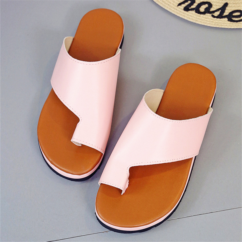 Women 39 s Summer Open Toe Thong Sandals Casual Leisure PU Leather Flat Heel Slippers Sandals Sequins Beach Sandals Flip Flop in Women 39 s Sandals from Shoes