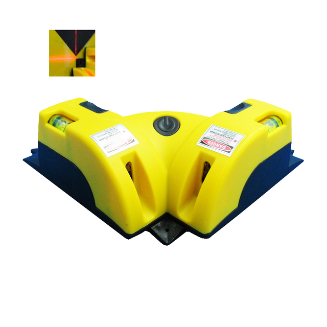 Laser Level Tool 90 Degree Right Angle Square Laser Measurement ...