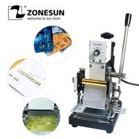 ZONESUN ПВХ Карта 220 V/110 V бумага для визитных карточек Embosser детали электроинструмента для пластиковых карт
