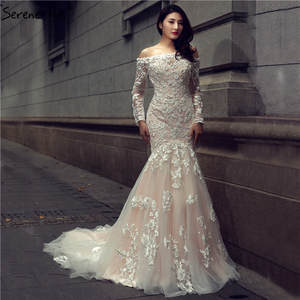 4dc1fd62f48d top 10 largest crystal sexy mermaid lace long bridal dress list