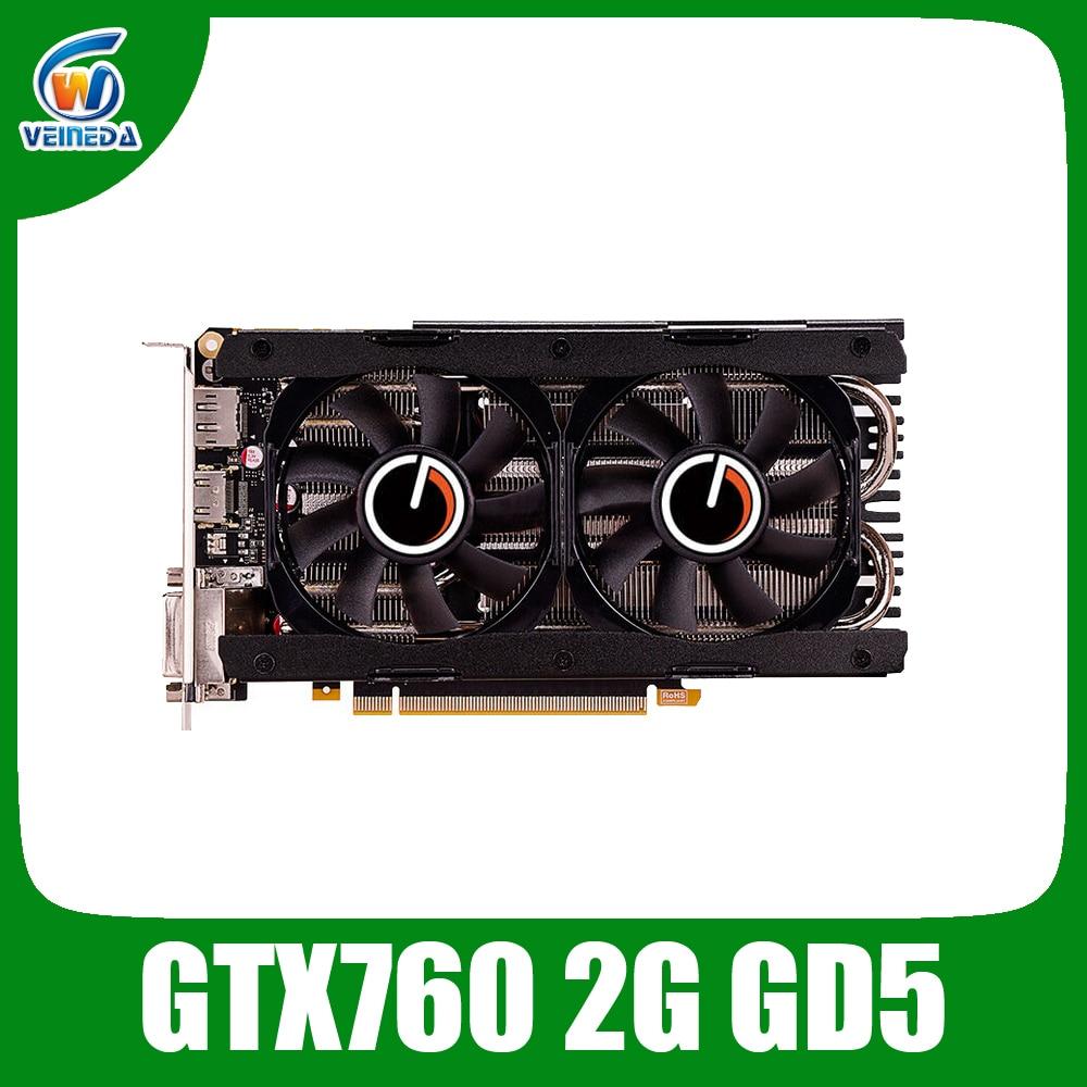 video card nvidia geforce GTX760 2GB GDDR5 256Bit card