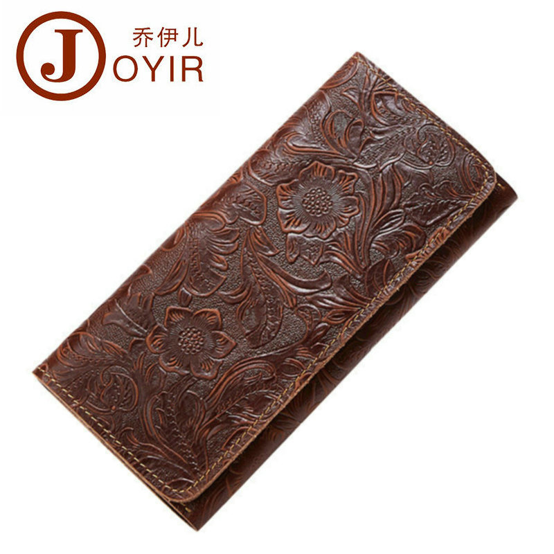 Luxury Crazy Horse Leather Women Wallet Clutch Cowhide id Cards Holder Genuine Leather Wallets Female Money Phone Purse Vintage 100% wax oil cowhide vintage wallets female money clips real leather clutch wallet for women credit cards change purses 2014 new