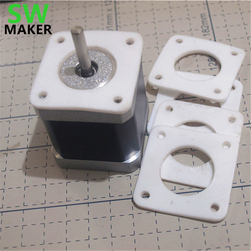 1pcs Nema 17 / Nema 23 Stepper Motor Anti Vibration Ptfe Damper Vibration Damper Shock Absorber For Cnc Reprap 3d Printers Modern Design