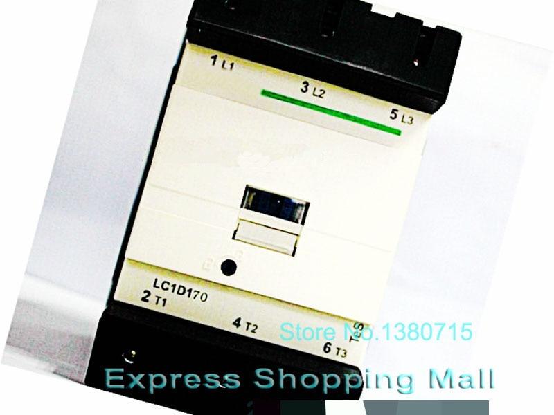 New LC1D17000M7C TeSys D Contactor 170A AC220V 50/60Hz LC1-D17000M7C tesys f contactor 3p 185a lc1f185 lc1f185u7 lc1 f185u7 240v ac