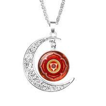 Women's Mystic Moon Pendant