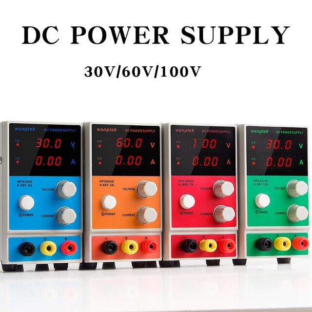 Wanptek adjustable dc power supply NPS30V 10A 60V 5A Variable 30V 10A Regulated the power modul Digital DC power supply HOT!