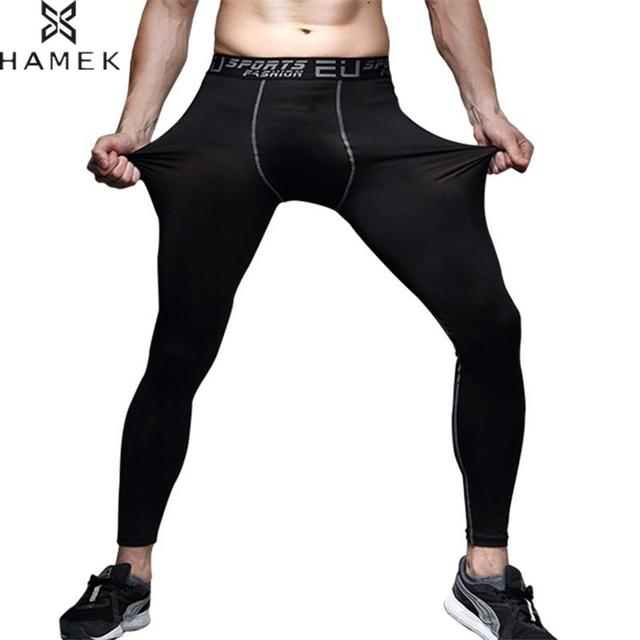 8259476c9e316 Compression Pants Men Running Fitness Gym Tights Sweatpants Skiny Quick Dry  Basketball Training Athletic Leggings Sports Skins