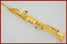 French Selmer High pitch Bb R54 Soprano Saxophone Straight one B Flat Saxe font b Musical