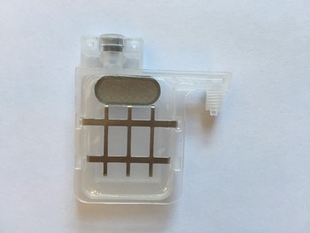 40pcs 4mm*3mm transparent big damper with square head for Epson DX5 printhead Wit Color Infinity Xenons DX5 printhead
