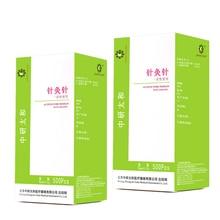 1000 Pcs 2 Doos Zhongyan Taihe Acupunctuur Naalden 1000 Naald Acupunctuur Wegwerp Naald Schoonheid Massage Sterilze Naald