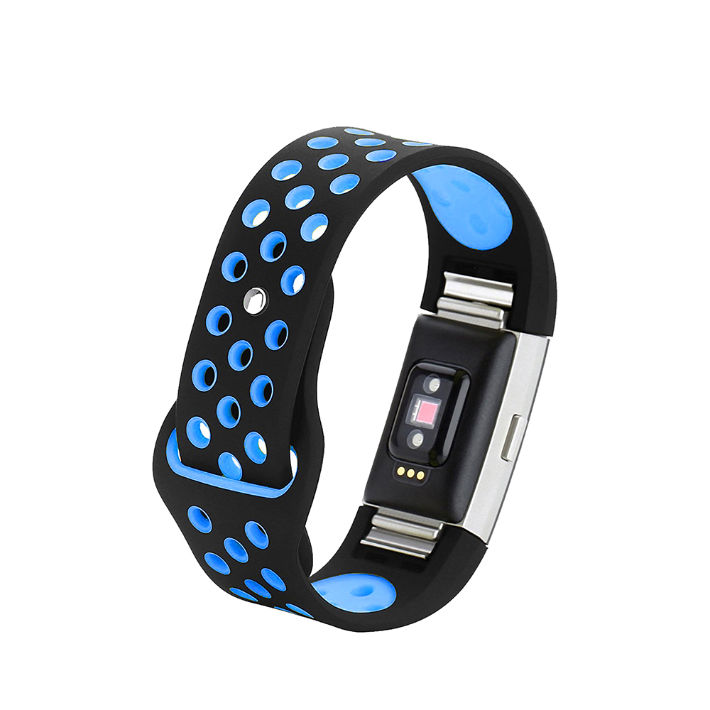 Leegoal for Fitbit Charge 2 Band Sport Silicone Band Strap For Fitbit Charge 2 Bracelet Smart Wristbands Smart Accessories 2
