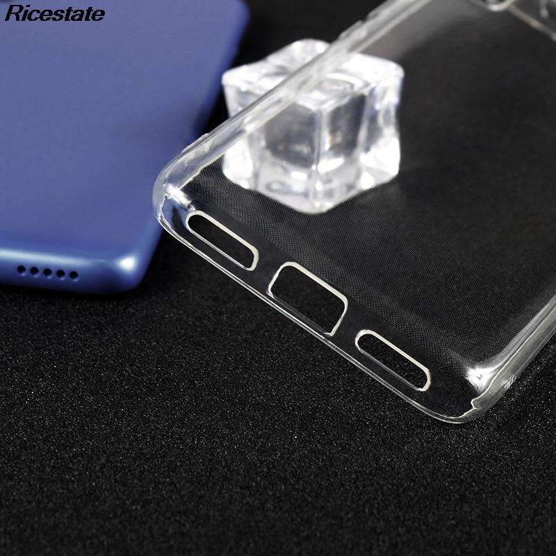 Xiaomi Redmi 7A Ultra-thin clear Case for Redmi7A Transparent Soft silicone TPU Phone Case Cover shell For Redmi 7A Clear Case (Clear)