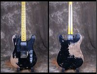 Starshine Relic Electric Guitar CC RTL2 Brass Saddles Nitrolacquer Stain Finish Relic 100% Handmade ASH Body Vintage Tuner