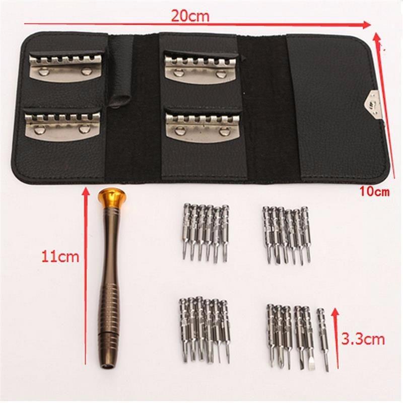 Mobiiltelefonide remonditööriistade komplekt 25 ühes täpsusega - Tööriistakomplektid - Foto 4
