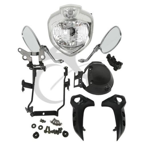 Image 3 - Motorcycle Headlight kit Head Light Assembly For Yamaha FZ6 FZ6N 2004 2006 2005