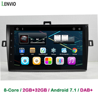 Lenvio IPS RAM 2GB+32GB Octa Core Android 7.1 CAR Radio DVD GPS Navigation For Toyota Corolla 2007 2008 2009 2010 2011 2012 2013