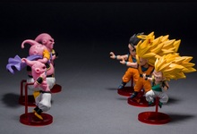 Saiyans vs Buu 6 Piece Toy Set